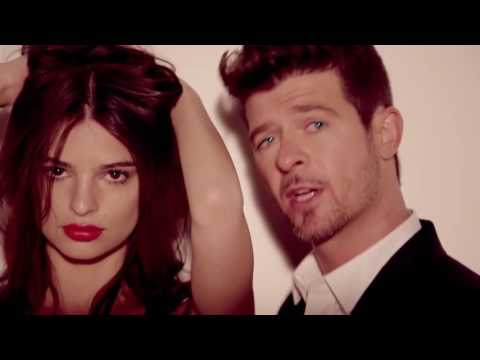 Blurred Lines - Music Video without music