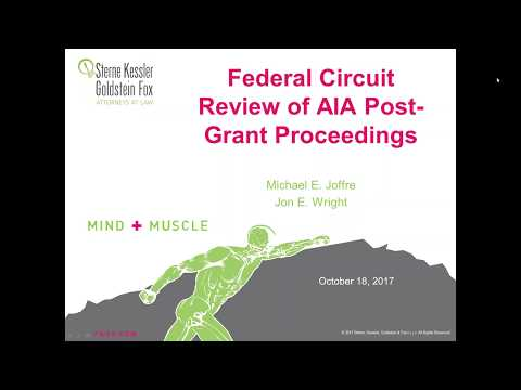 5th Anniversary Webinar Series: Federal Circuit Review of AIA Post-Grant Proceedings