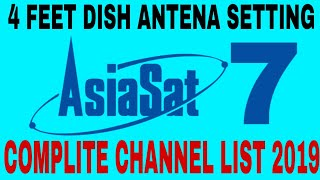 Download Free Dish Asiasat 100 5e Ku Band Dish Setting And