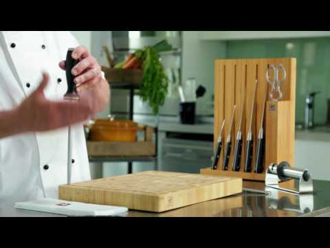 Knife Skills - How To Sharpen A Knife