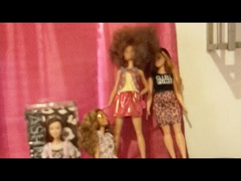 Live Room Tour,Barbie fashionista un Boxing and Dress Up.