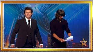 ¿Quieres conocer al doble español de Sean Penn? Son iguales | Audiciones 1 | Got Talent España 2019