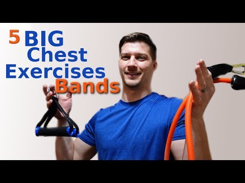 chest-workout-with-resistance-bands-at-home