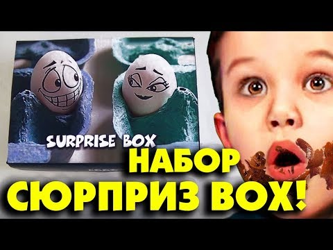 НАБОР СЮРПРИЗНЫЕ ЯЙЦА Мистера Макса  SURPRISE KINDER BOX