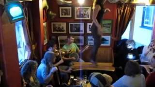 Irish Table Dance at