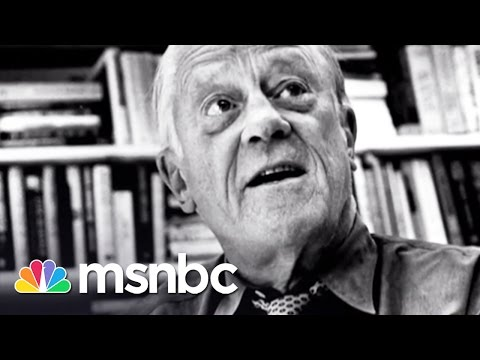 Washington Post Editor Ben Bradlee Dies | Rachel Maddow | MSNBC