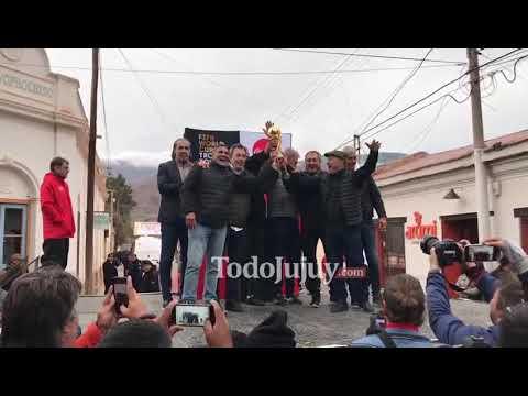 Los campeones del 86 cumplieron La Promesa en Tilcara