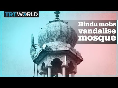 Delhi Riots: Hindu Mobs Set Mosque On Fire
