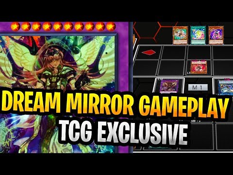 New Dream Mirror Gameplay New Yugioh TCG EXCLUSIVE Archetype With Dream Mirror Deck Profile