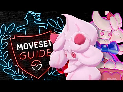 How to use ALCREMIE! GIGANTAMAX Alcremie Moveset Guide! Pokemon Sword and Shield! ⚔️🛡️
