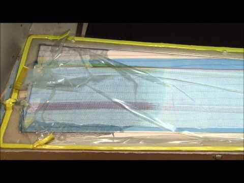 Vacuum Resin Infusion L-13 Blaník wing 3.5 meter