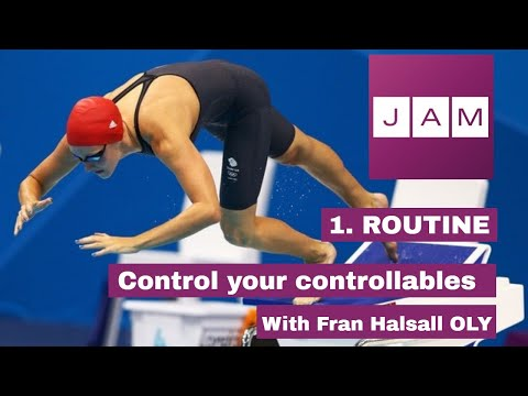 Controlling your controllables: 1. Routine