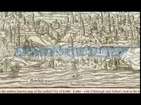 Edinburgh the real Jerusalem?  Dead/Salt *Sea* mislocated in wrong Holy Land