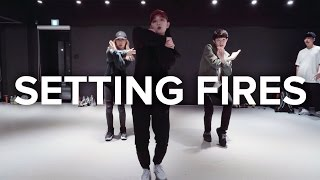 Setting Fires - The Chainsmokers ft. XYLØ / Yoojung Lee Choreography