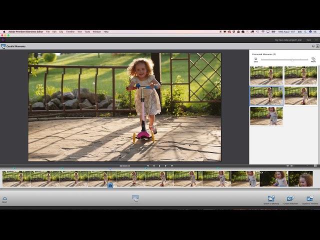 adobe premiere elements 2018 slideshow