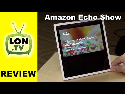 Amazon Echo Show Review - Alexa with a Screen ! Special Guest AFTVNews.com