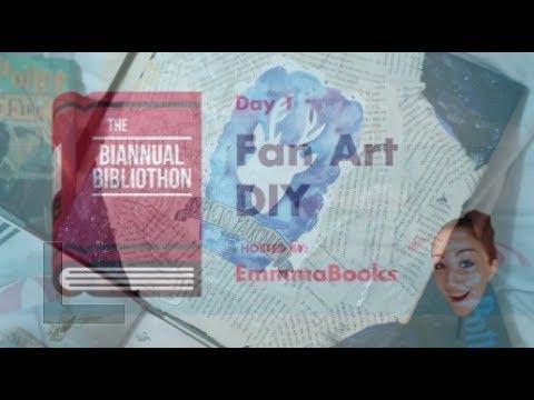 BIANNUAL BIBLIOTHON DAY 1: FANART DIY