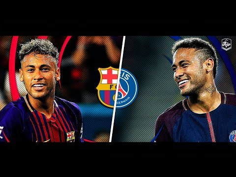 Neymar in Barcelona vs Neymar in PSG | HD