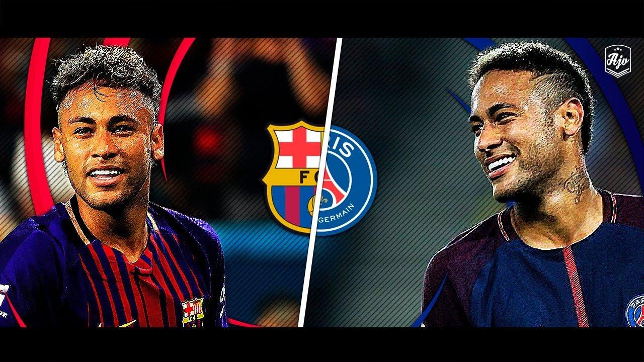 Neymar In Barcelona Vs Neymar In PSG