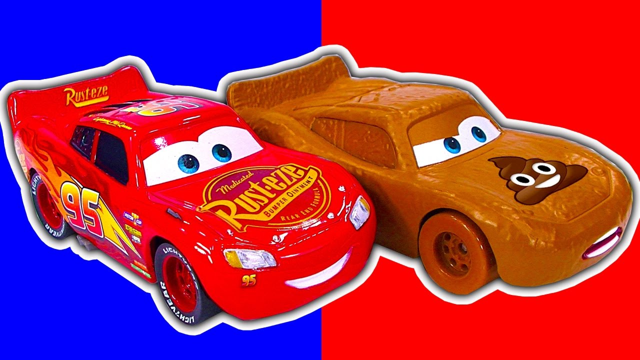Cars 3 Lightning Mcqueen Die Cast Sneaky Design Change Why Youtube