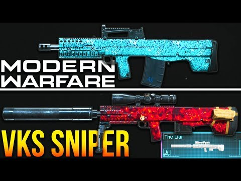 Modern Warfare: The SECRET VKS Sniper Rifle