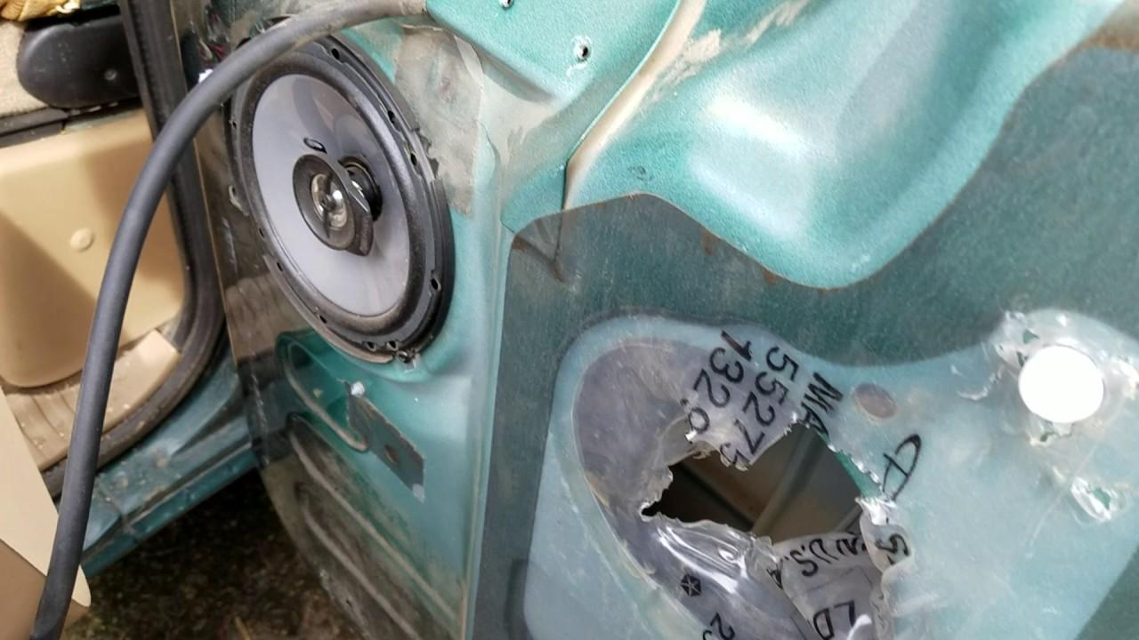 VERY EASY 1998-2002 Dodge REAR DOOR latch fix