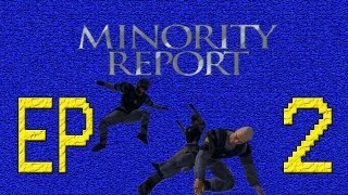 Minority Report Everybody Runs - Episode 2: Lizard Anderton - Radipals