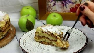 Насыпной яблочный пирог - рецепт. Насыпной пирог с яблоками