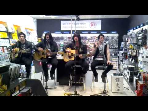 Glamour of the kill the summoning live acoustic hmv york