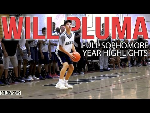 "Will ""#4"" Pluma Sophomore Year FULL HIGHLIGHTS 
