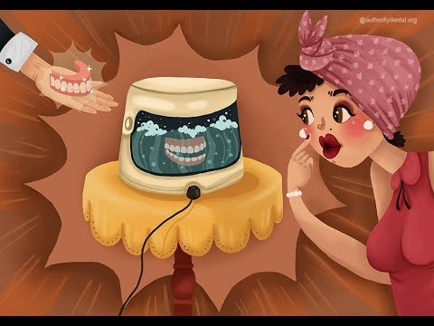 (At this point you might proceed to chemical disinfection of your denture via the use of a commercial or homemade soak.)