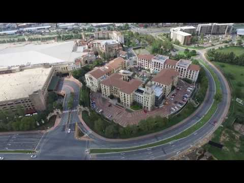 Flying Phantom 3 around Johannesburg