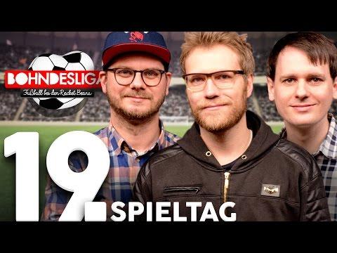 19. Spieltag der Bundesliga in der Analyse | Bohndesliga-Fußball bei Rocket Beans | 06.02.2017