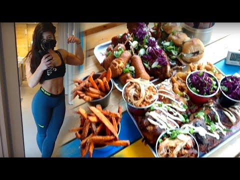 Girl Vs. OVER 12,000 Calories | Rub Smokehouse Challenge | Girl Vs. Food