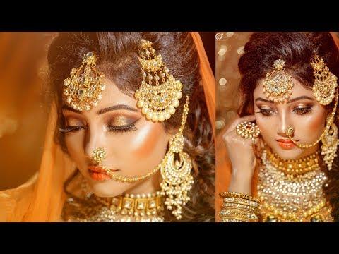Arabic Bridal Makeover | Makeup Artist Jyoti Shaw | Photographer LOukik Das |