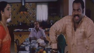 Kalabhavan Mani Gets Irritated With Vijay Kumar    Dheerudu Movie Scenes
