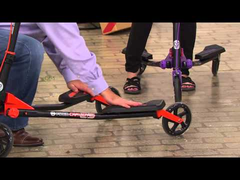 Carver C5 3-Wheeled Self Propelled Scooter by yVolution with Pat James-Dementri