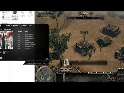 Company Of Heroes 2 V3.0.0.14690 Trainer +7