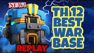NEW TH12 WAR BASE ANTI 3 STAR | TH12 ANTI EVERYTHING | TH12 BASE | CLASH OF CLANS