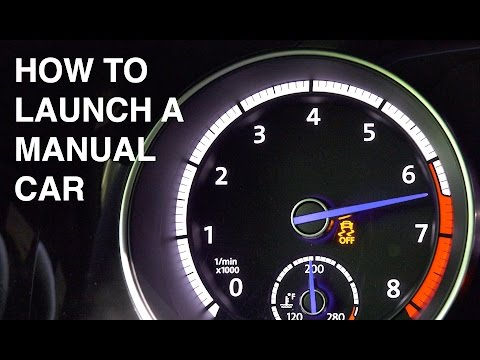 How To Launch A Manual Transmission Car