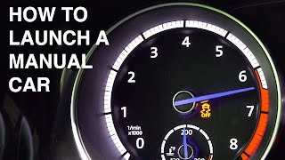 How To Launch A Manual Transmission Car thumbnail