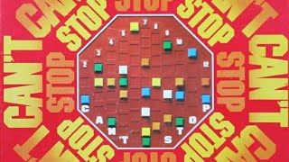 Ep. 111: Can't Stop Board Game Review (Parker Brothers 1980)