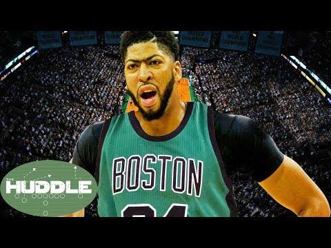 Anthony Davis JOINING the Celtics!!? -The Huddle