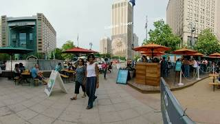 Campus Martius Park Detroit 360 Video - Visit Detroit