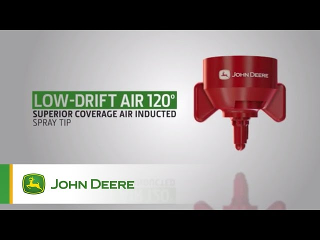 John Deere Sprayer Nozzles: Low Drift Air 120°