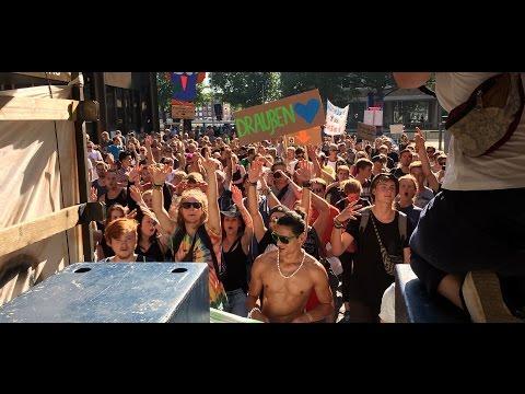 resist to exist demonstration, bremen, 22.08.2015
