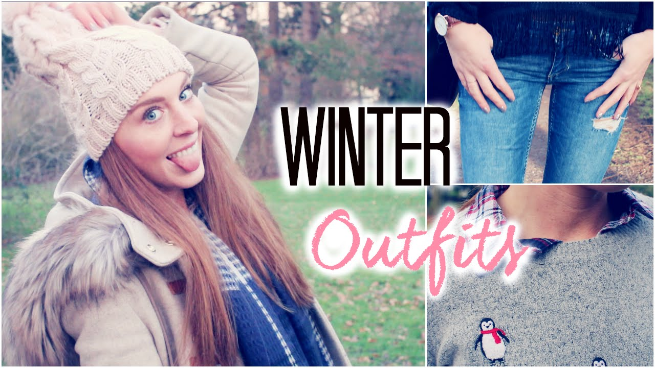 winter outfit ideas 2015 lookbook mit juliabeautx laurencocoxo youtube. Black Bedroom Furniture Sets. Home Design Ideas
