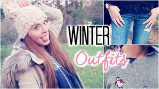 WINTER OUTFIT IDEAS 2015 | Lookbook mit JuliaBeautx | LaurenCocoXO Thumbnail