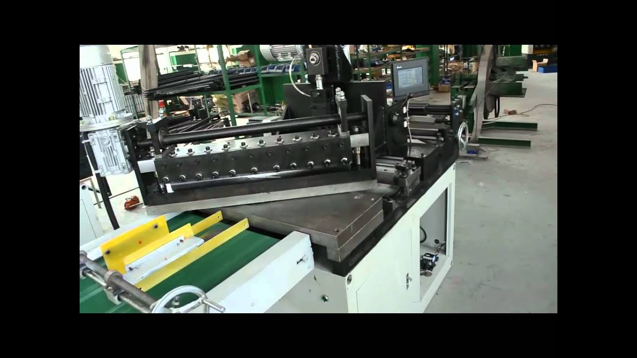 Compact Silicon Steel Cutting Machine With Hole Punch Mp4