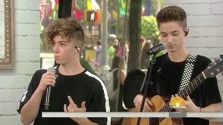 Video Why Don't We performs hit single, Something Different on the Today Show download MP3, 3GP, MP4, WEBM, AVI, FLV November 2017